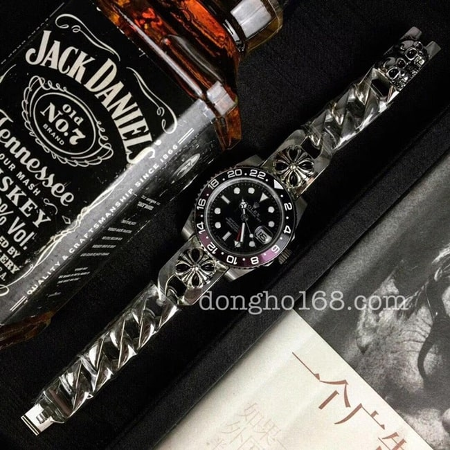 dong-ho-rolex-chrome-hearts